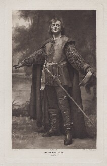 William Mollison as Pistol in 'Henry V', by Langfier Ltd, circa 1905 - NPG  - © National Portrait Gallery, London