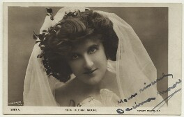 (Lilian) Decima Moore, by Lizzie Caswall Smith, published by  Rotary Photographic Co Ltd - NPG x21390