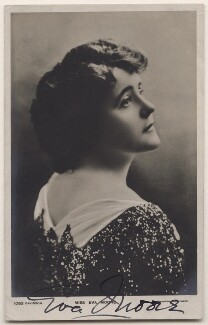Eva Moore, by Johnston & Hoffmann, published by  Davidson Brothers - NPG x21392