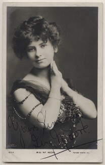 Ivy Moore, by Johnston & Hoffmann, published by  Rotary Photographic Co Ltd - NPG x21399