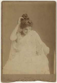Julia Emilie Neilson, by Herbert Rose Barraud - NPG x21475
