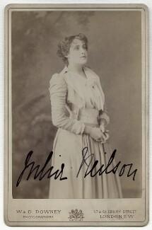 Julia Emilie Neilson, by W. & D. Downey - NPG x21480
