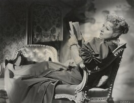 (Eileen Evelyn) Greer Garson, by Davis Claude Boulton - NPG x21663
