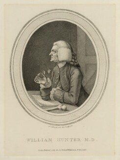 William Hunter, by John Thornthwaite, published by  Robert Wilkinson - NPG D10584