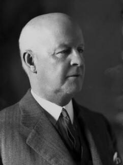 Sir Pelham Francis Warner, by Bassano Ltd - NPG x21819
