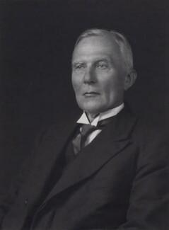 Herbert Albert Laurens Fisher, by Walter Stoneman - NPG x21925