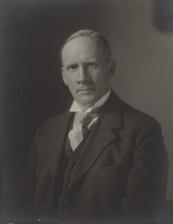 Sir Robert Robinson, by Walter Stoneman, 11 May 1933 - NPG x21929 - © National Portrait Gallery, London