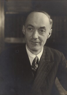 Sir Cyril Norman Hinshelwood, by Walter Stoneman - NPG x21934