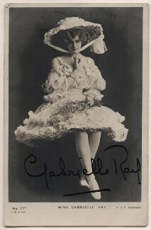 Gabrielle Ray, by W. & D. Downey, published by  J. Beagles & Co - NPG x21998