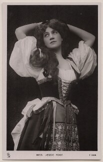 Jessie Rose, by The Dover Street Studios Ltd, published by  Raphael Tuck & Sons - NPG x22095