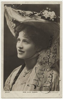 Alice Russon, published by Rotary Photographic Co Ltd - NPG x22140