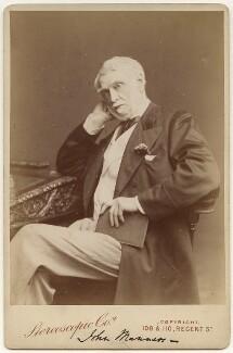John James Robert Manners, 7th Duke of Rutland, by Ladislas Nievsky (Niewsky), for  London Stereoscopic & Photographic Company - NPG x22144
