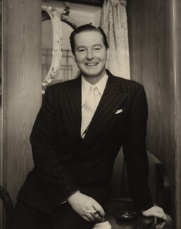 Terence Rattigan, by W.A. Probst - NPG x22206