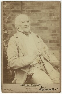 William Ewart Gladstone, by Byrne & Co - NPG x22230