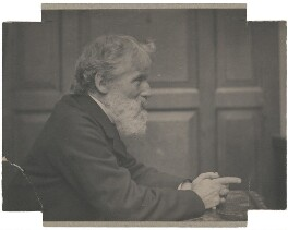 George Henry Holiday, by Frederick Hollyer - NPG x22251