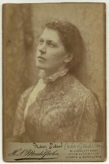 Mary Drew (née Gladstone), by Hayman Seleg Mendelssohn - NPG x22253