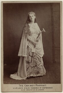 Ellen Gilbert Scott (née King Sampson), by George & Rebecca Lavis - NPG x22265