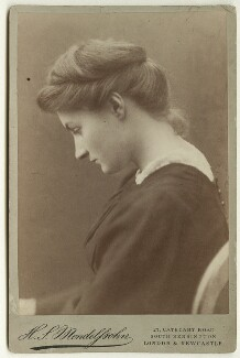 Ethel King, by Hayman Seleg Mendelssohn - NPG x22267