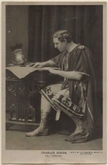 Charles Doran as Brutus in 'Julius Caesar', by (Henry Donald) Halksworth Wheeler - NPG x22284