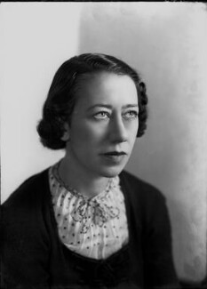 Flora Robson, by Bassano Ltd - NPG x22289