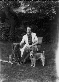 Flora Robson, by Bassano Ltd - NPG x22292