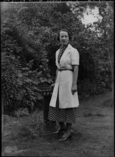 Flora Robson, by Bassano Ltd - NPG x22293