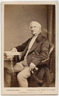Sir Edward Sabine, by William Walker & Sons, 1862-1866 - NPG x22323 - © National Portrait Gallery, London