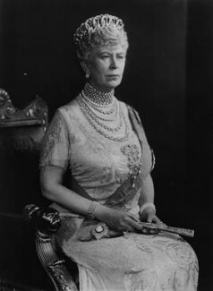 Queen Mary, by Vandyk, 1935 - NPG x22387 - © National Portrait Gallery, London