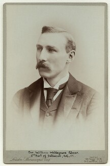 William Waldegrave Palmer, 2nd Earl of Selborne, by London Stereoscopic & Photographic Company - NPG x22497