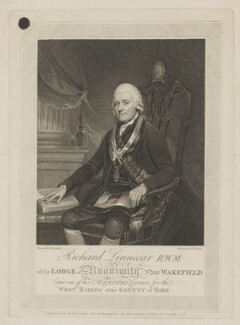 Richard Linnecar, by and published by T. Barrow, published by  Samuel William Fores, after  Henry Singleton - NPG D10589