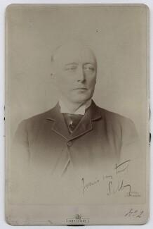 William Court Gully, 1st Viscount Selby, by Alexander Bassano - NPG x22501