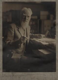 George Bernard Shaw, by Olive Edis - NPG x22527