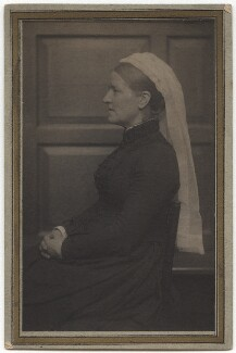 Eleanor Louisa Moravia Sickert (née Henry), by Frederick Hollyer - NPG x22577