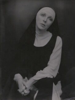 Lady Diana Cooper (Diana (née Manners), Viscountess Norwich) as the nun in 'The Miracle', by Fred G. Curson, circa 1923 - NPG x22609 - © National Portrait Gallery, London