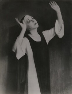 Lady Diana Cooper (Diana (née Manners), Viscountess Norwich) as the nun in 'The Miracle', by Fred G. Curson, circa 1923 - NPG x22611 - © National Portrait Gallery, London