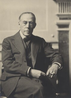 Sir Harold Edward Snagge, by Olive Edis - NPG x22648