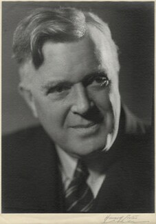 Frank Pick, by Howard Coster, 1939 - NPG x22842 - © National Portrait Gallery, London