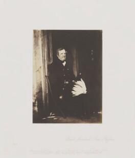 FitzRoy James Henry Somerset, 1st Baron Raglan, by Roger Fenton - NPG Ax24901