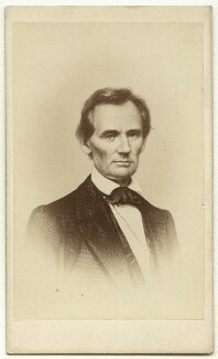 Abraham Lincoln, published by William Henry Mason, after  Unknown engraver, after  Mathew B. Brady - NPG x23489