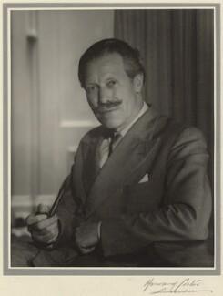 Sir (Robert Eric) Mortimer Wheeler, by Howard Coster - NPG x2365