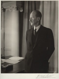 Dudley Gladstone Gordon, 3rd Marquess of Aberdeen and Temair, by Howard Coster, 1953 - NPG x2391 - © National Portrait Gallery, London