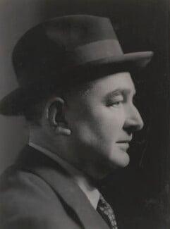 Ivor Brown, by Howard Coster, 1940 - NPG x24037 - © National Portrait Gallery, London