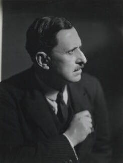 Holbrook Jackson, by Howard Coster, 1930s - NPG x24049 - © National Portrait Gallery, London