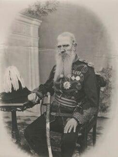 Sir Michael Filose, by R.L. Desai - NPG x24124