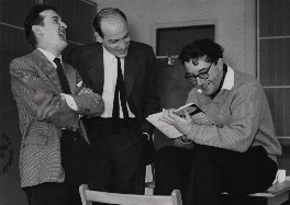 Graham Stark; Richard Lester; Peter Sellers, by Herbert K. Nolan - NPG x24199