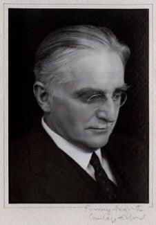 Harold William Vazeille Temperley, by Ramsey & Muspratt - NPG x24436