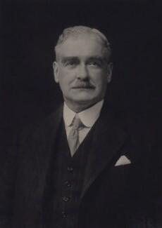 Sir (George) Keith Buller Elphinstone, by Walter Stoneman - NPG x24437