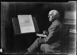 Norman Wilkinson, by Howard Coster - NPG x24526