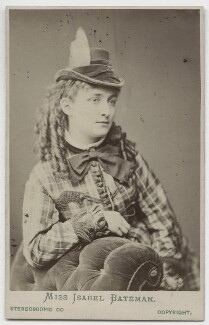 Isabel Emilie Bateman, by London Stereoscopic & Photographic Company - NPG x246