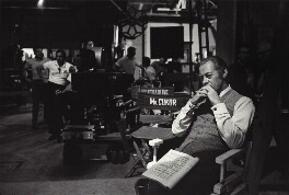 Rex Harrison on the set of 'My Fair Lady, by Bob Willoughby - NPG x24934